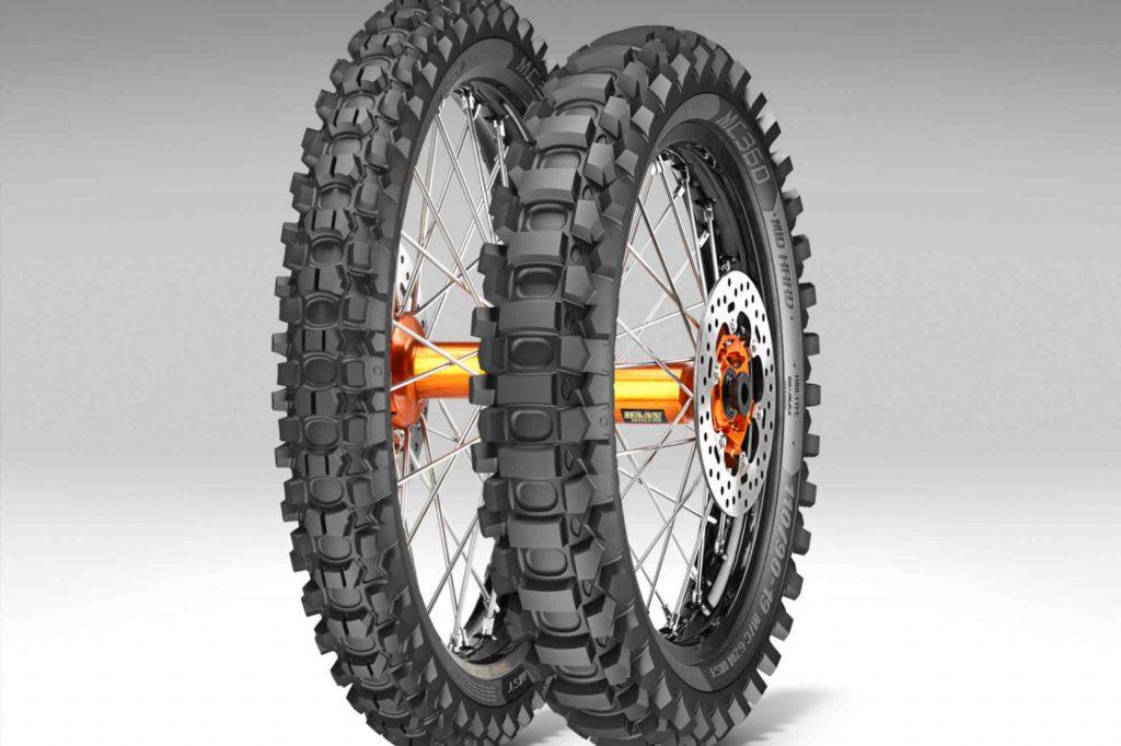 Le pneu Metzeler MC 360 en image