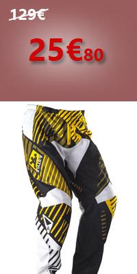 Pantalon Motocross A-Style Jaune