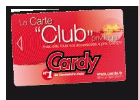 Braderie Cardy - Carte Cardy Prix Club