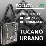 Jeu concours Cardy sur Twitter. Follow + retweet pour gagner un tablier de scooter Termoscud Tucano Urbano R080