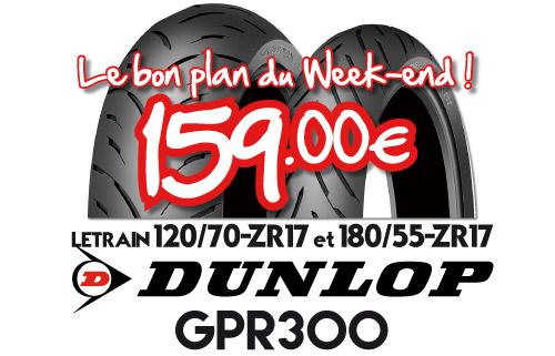 Braderie Cardy Brest - Dunlop GPR300