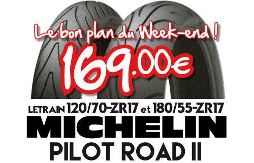 Braderie Cardy Clermont-Ferrand - Michelin Pilot Road II