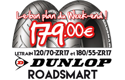 Braderie Cardy Lorient - Dunlop Roadsmart