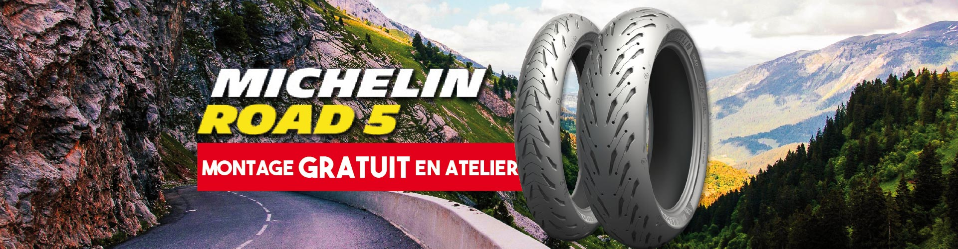 Promo Michelin Road 5
