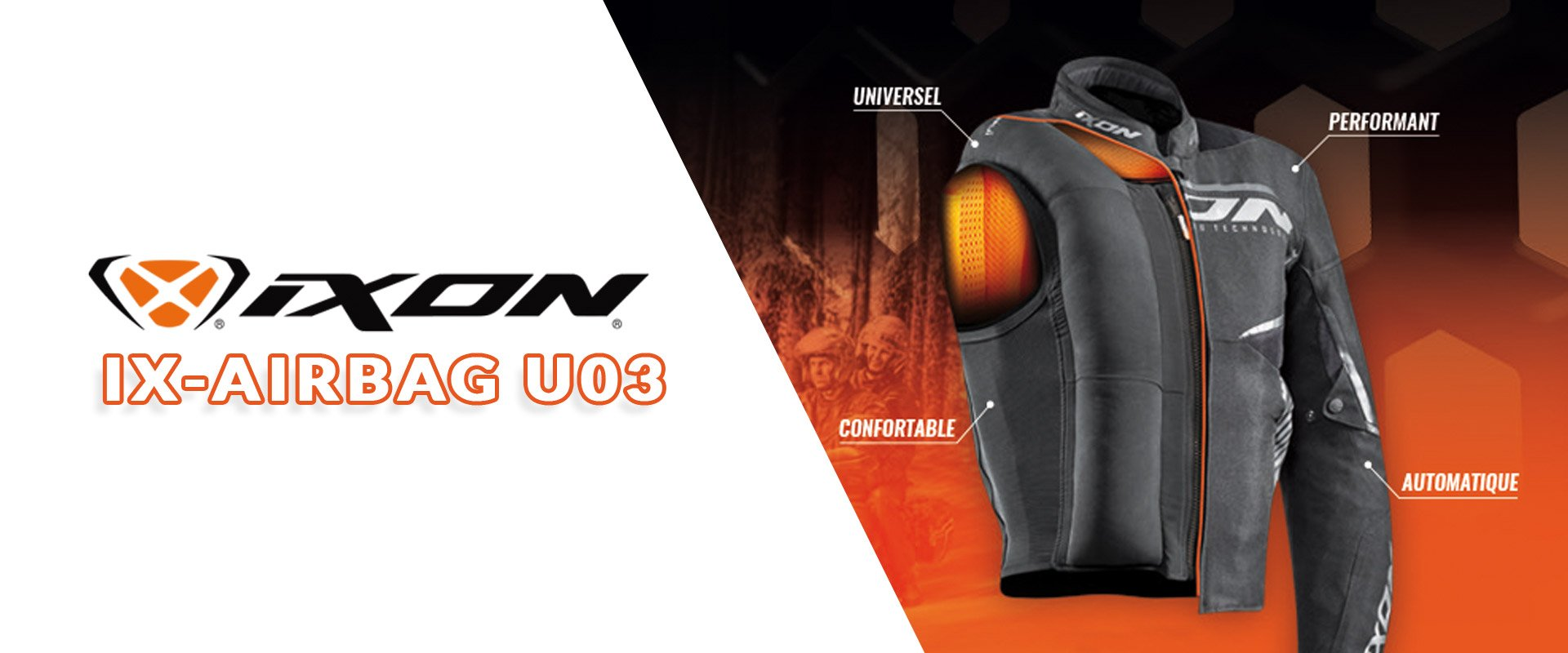 airbag ixon ix airbag disponible dans les magasins cardy le blog cardy. Black Bedroom Furniture Sets. Home Design Ideas