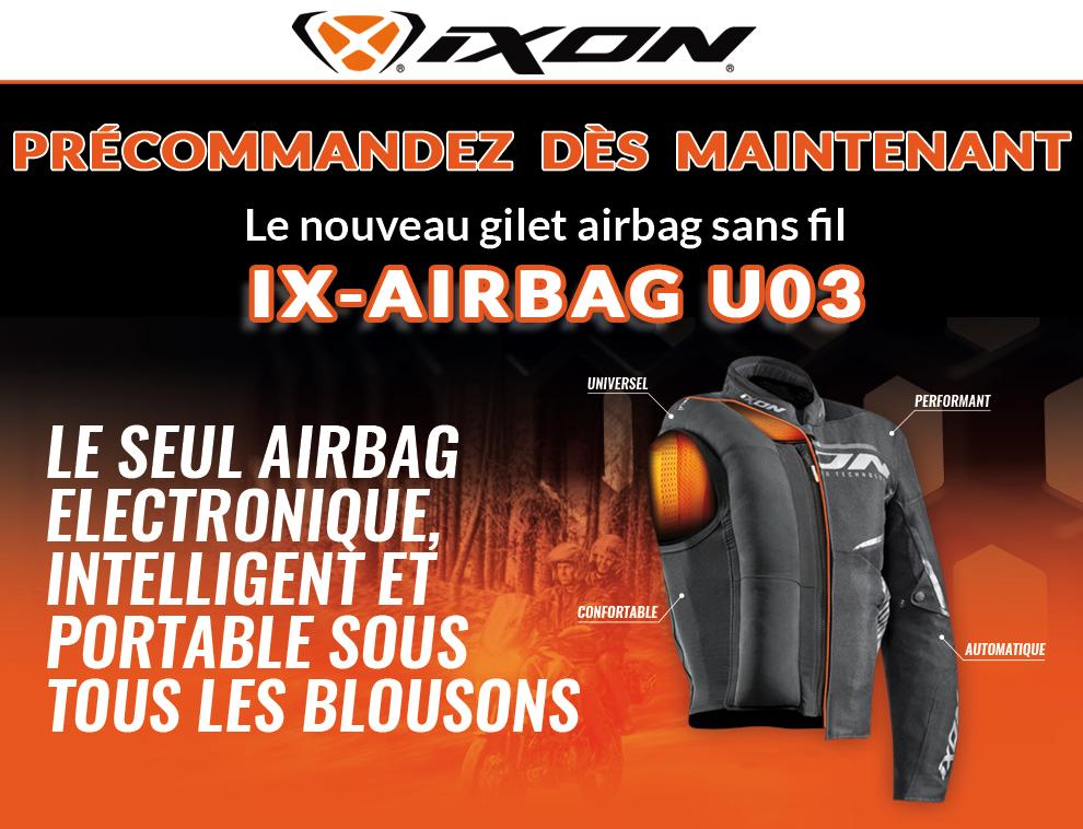 airbag ixon ix airbag u03 le blog cardy. Black Bedroom Furniture Sets. Home Design Ideas