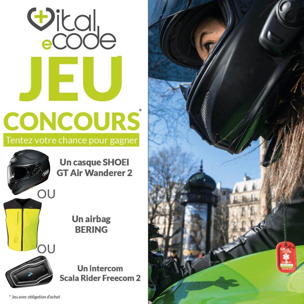Jeu concours Vital eCode - Braderie Cardy Coignières