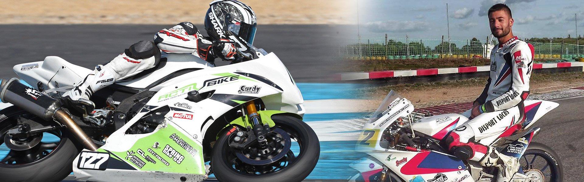 Pilotes sponsorisés cardy - Guillaume Raymond et Johan Wang Chang