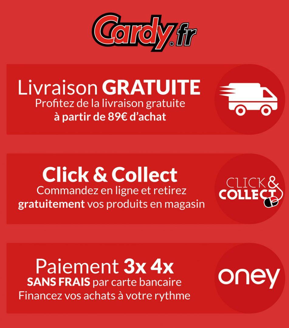 cardy.fr - site de vente d'accessoires et équipements moto