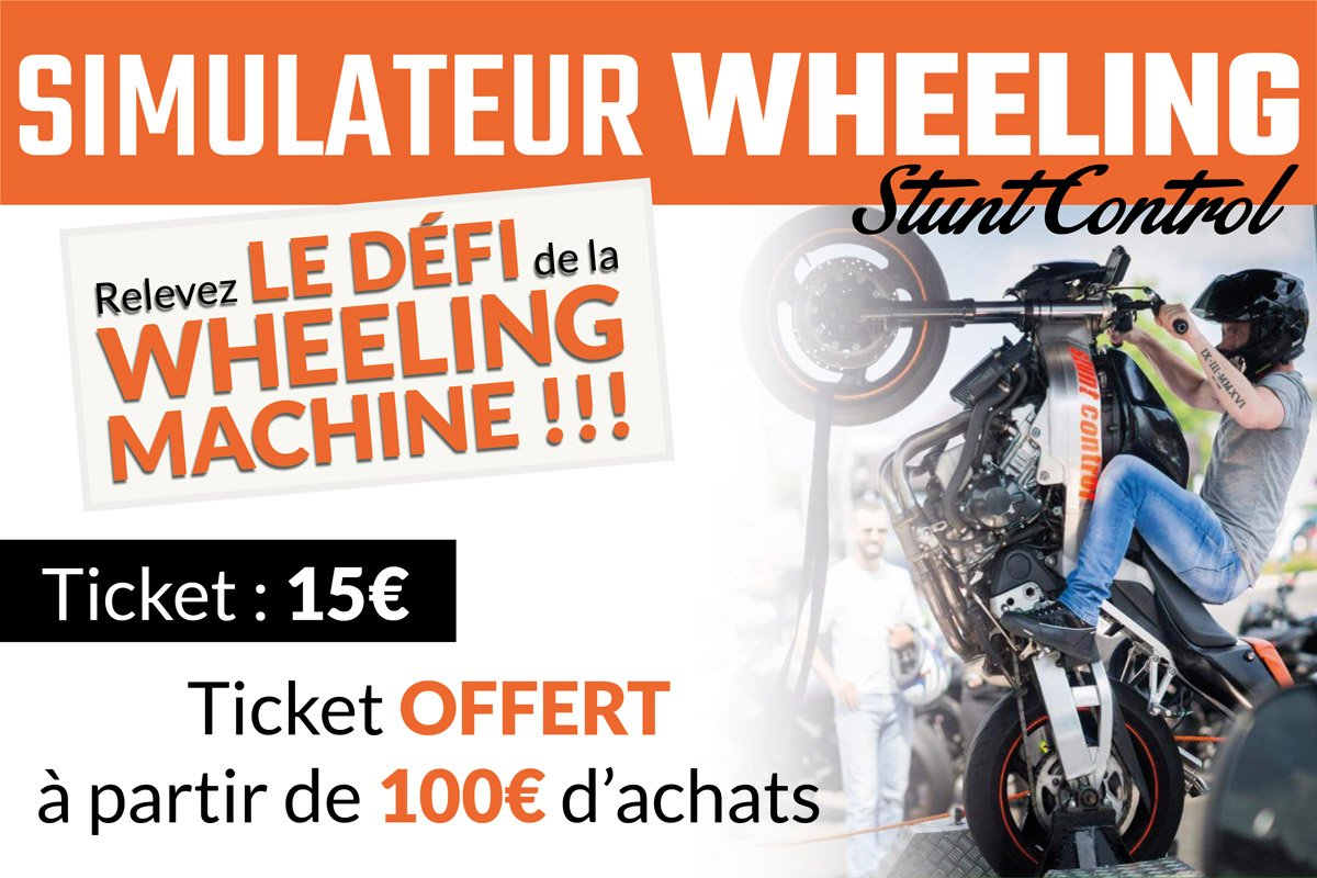 Simulateur de Wheeling avec Stunt Control