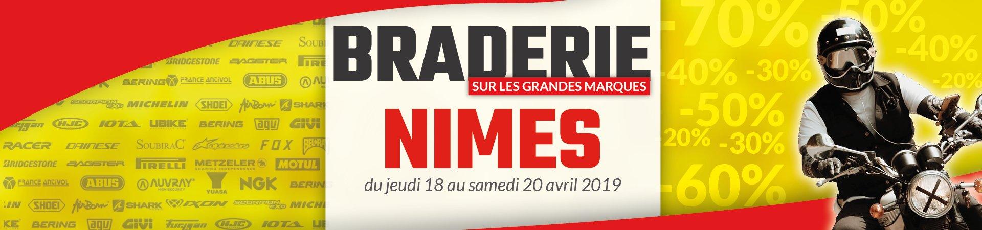 braderie cardy Nîmes 2019