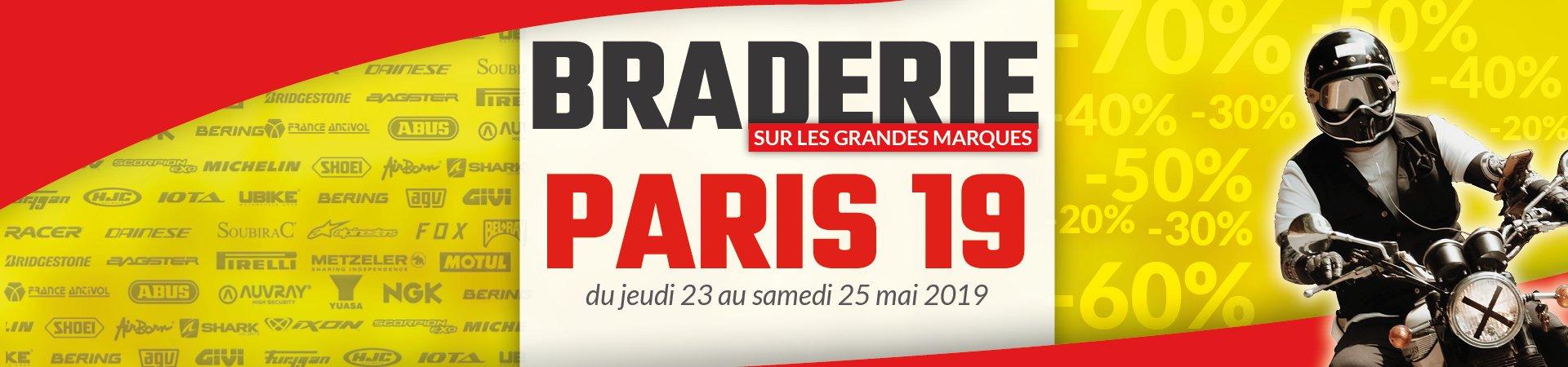 Braderie Cardy Paris 19 ème 2019