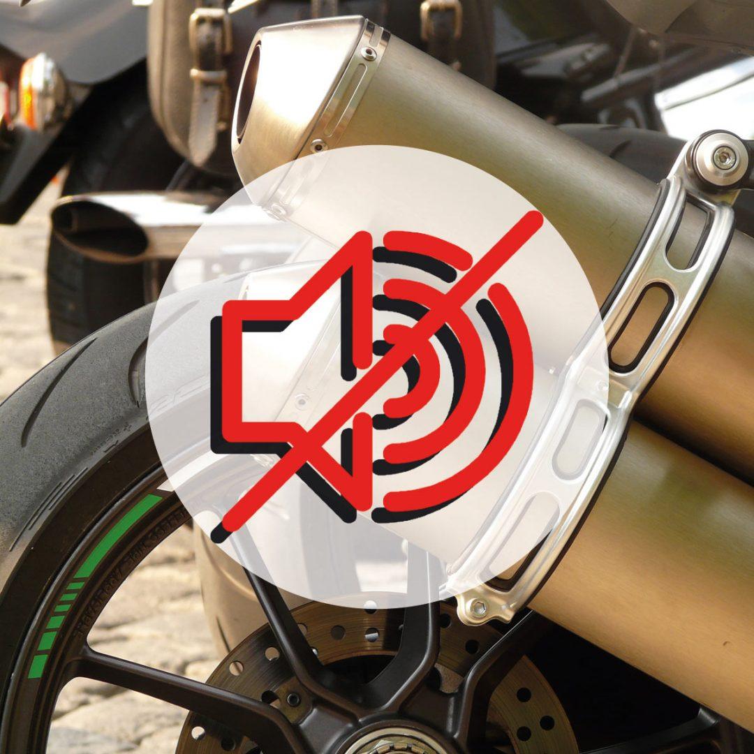 Radar anti-bruit, les motards bientôt sanctionnés