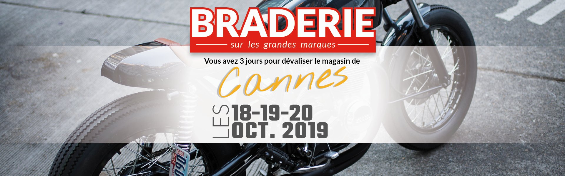 Braderie Cardy Cannes octobre 2019, BRADERIE CARDY CANNES OCTOBRE 2019