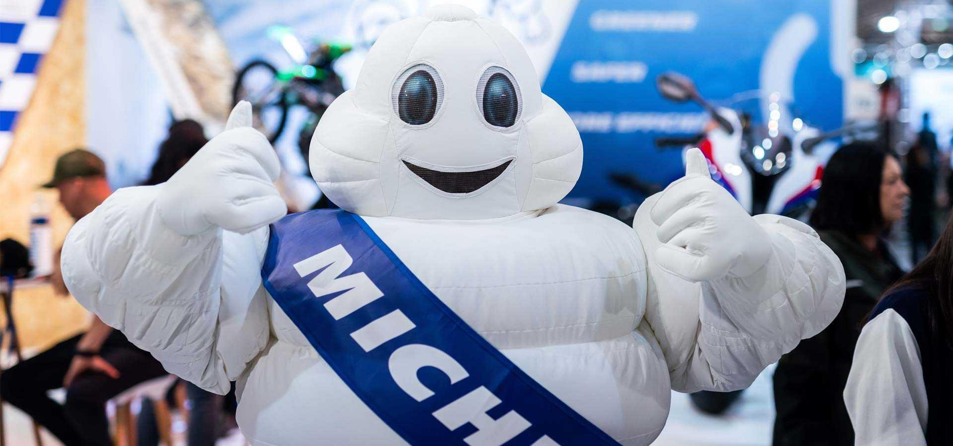 Nouveaux pneus Michelin
