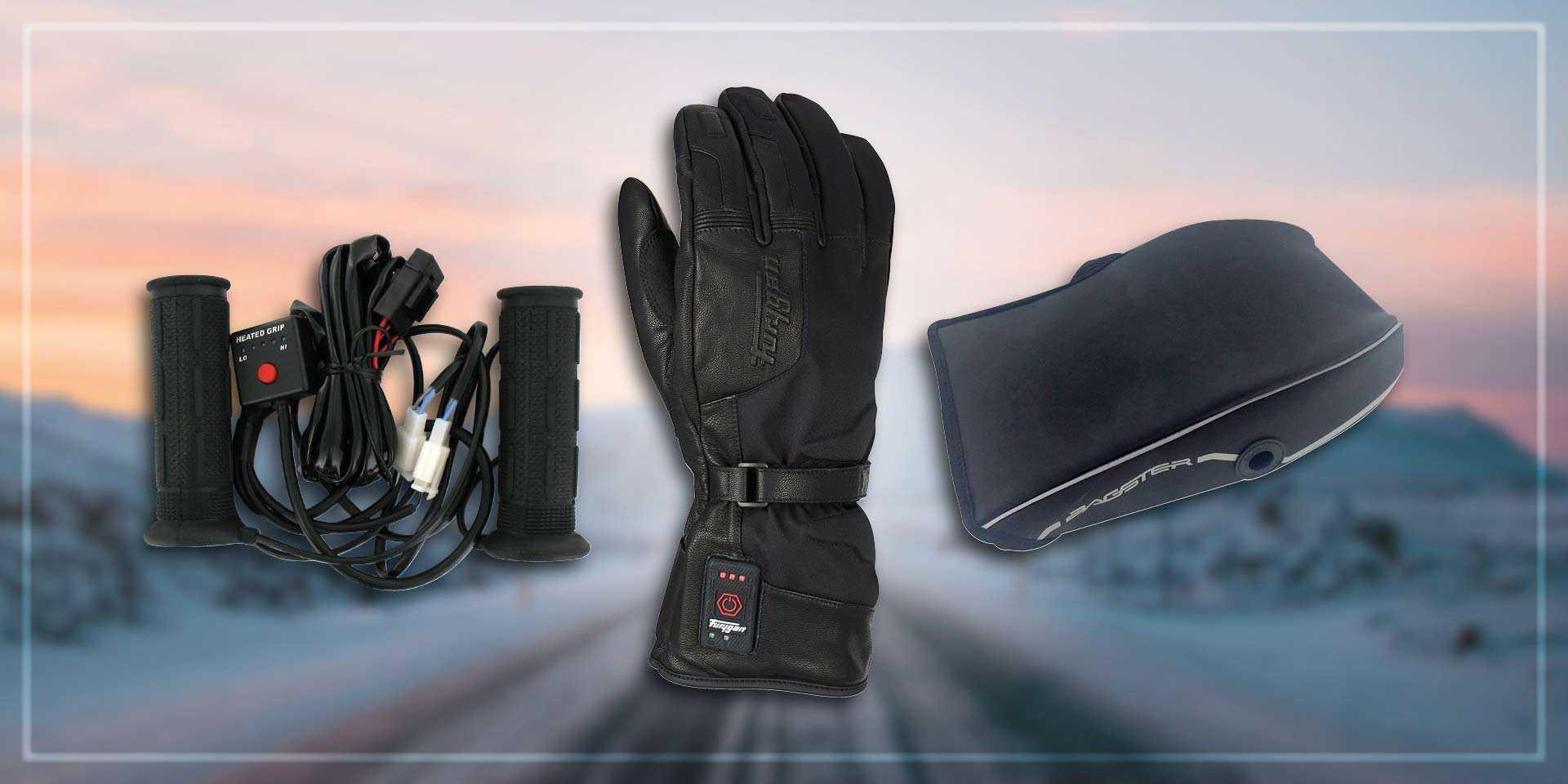 gants chauffants, manchons et poignées chauffantes