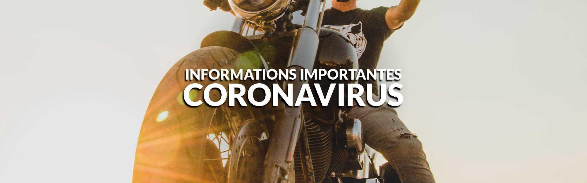 coronavirus, CORONAVIRUS: INFORMATIONS IMPORTANTES