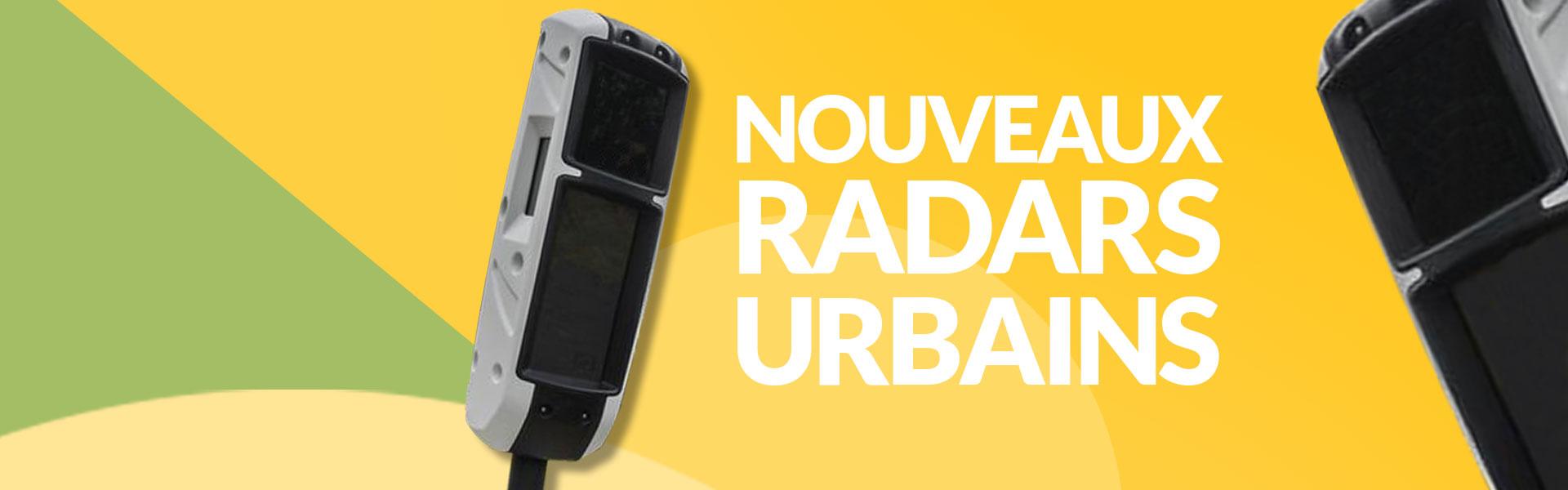 Des radars urbains next-gen bientôt en service...
