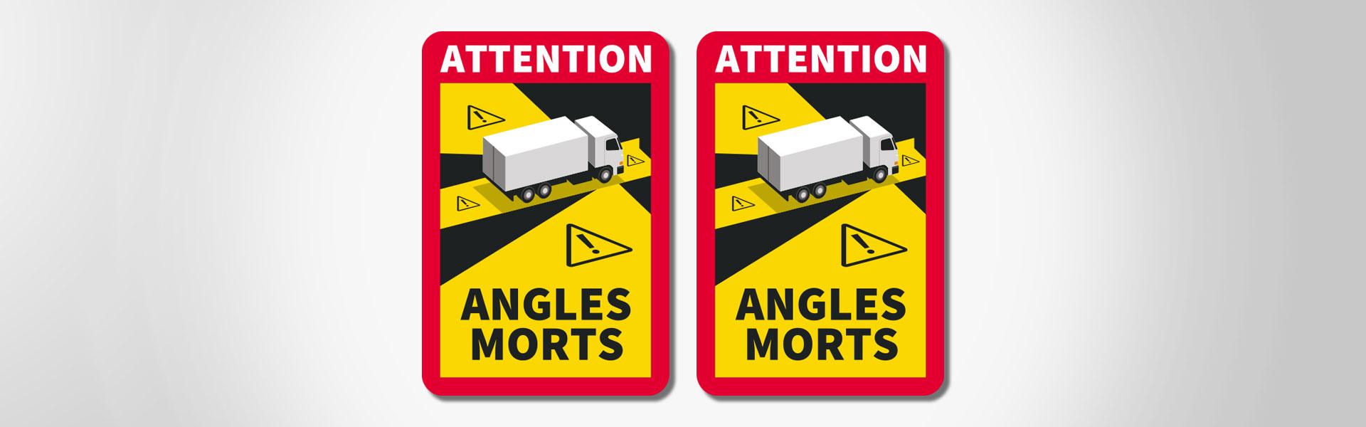 Nouvelle signalisation des angles morts pour les véhicules lourds