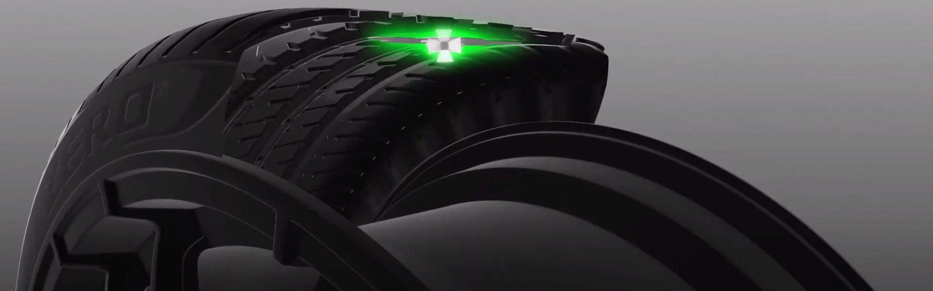 Pneus connectés, les Pirelli Cyber Tyre arrivent