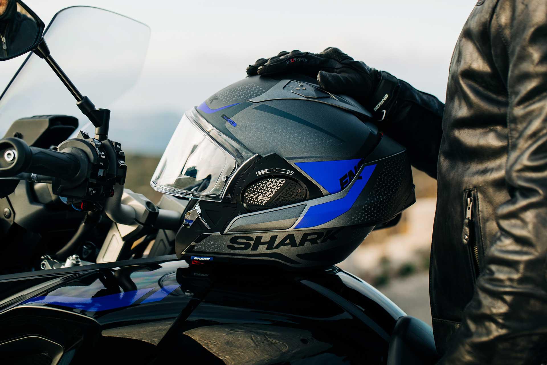 Shark EVO-GT le nouveau casque modulable de référence