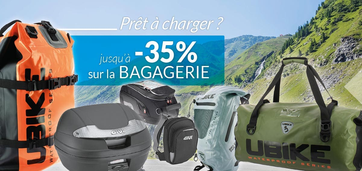 bagagerie moto