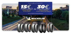Promo Michelin : -30€ sur votre train de pneus