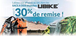 -30% sur les sacs Ubike étanches