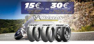 -30€ sur les pneus Michelin Power