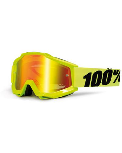 100 POURCENT  Accuri Fluo Yellow mirror red