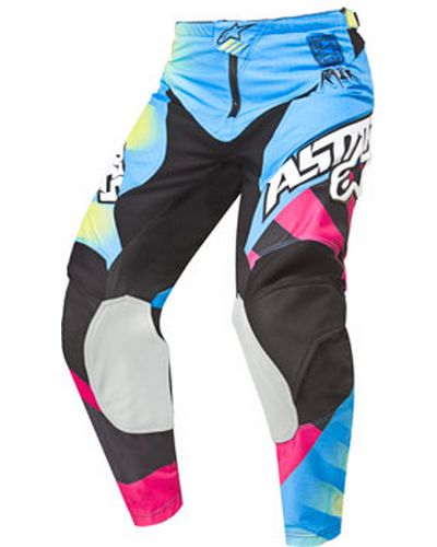 ALPINESTARS Racer Braap kid bleu-rose