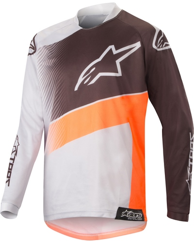 ALPINESTARS  Racer Supermatic kid gris-orange