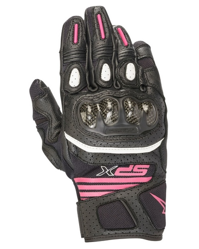 ALPINESTARS  Stella SP X air carbon V2 noir-fushia