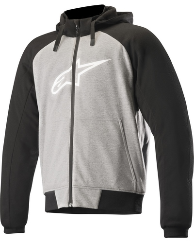 ALPINESTARS  SWEAT Chrome Sport noir-gris
