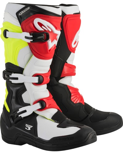 ALPINESTARS  Tech 3 Jaune-Rouge