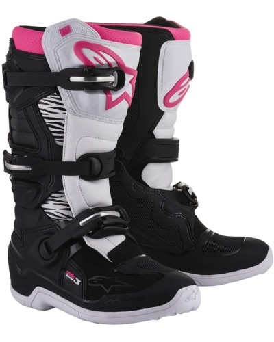 ALPINESTARS Tech 3 Stella noir-rose