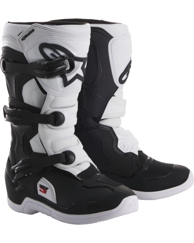 ALPINESTARS Tech 3S Youth noir-blanc