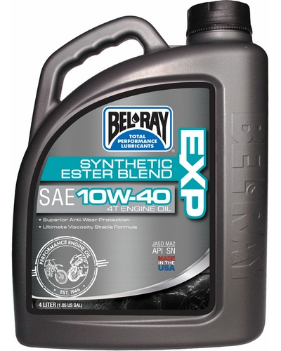 BEL-RAY  EXP semi-synth 4T 10w40 4 litres