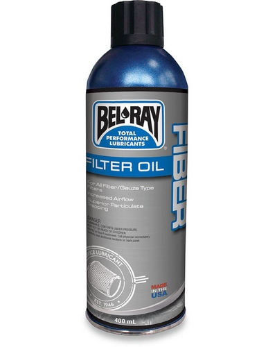 BEL-RAY Fiber Filter Oil 400 ml