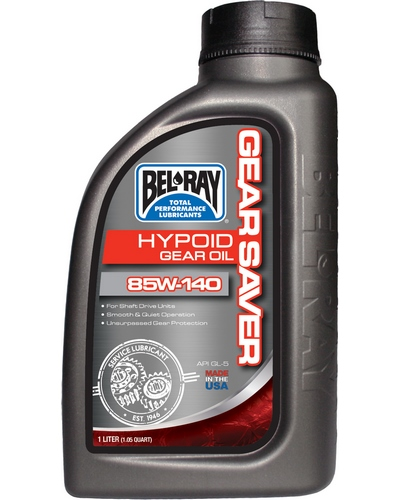 BEL-RAY Gear Saver Hypoid 85W-140 1 litre