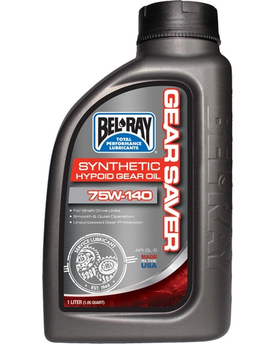 BEL-RAY Gear Saver Synthetic Hypoid 75W-140 - 1 litre