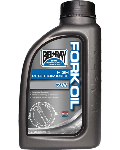 BEL-RAY High Performance Fork Oil 7W 1 litre