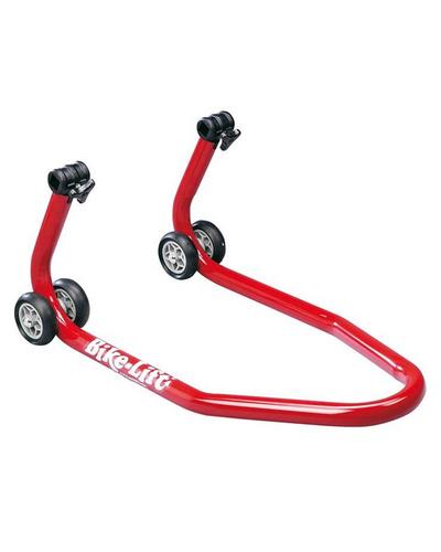 BIKE LIFT  Bequille avant BIKE LIFT universelle rouge avec supports coniques