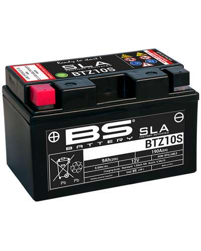 BS BATTERY  Batterie BS BTZ10S - SLA