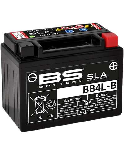 BS BATTERY Batterie BB4L-B-SLA