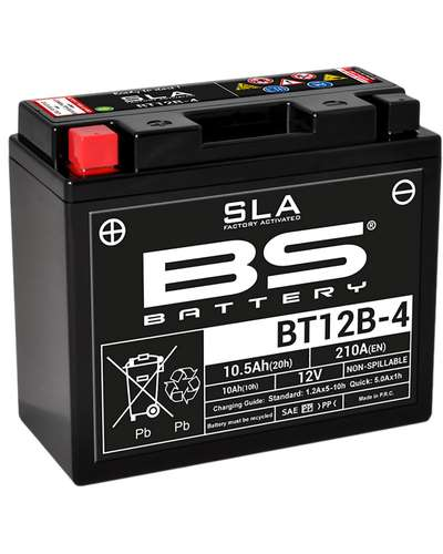 BS BATTERY Batterie BT12B-4-SLA