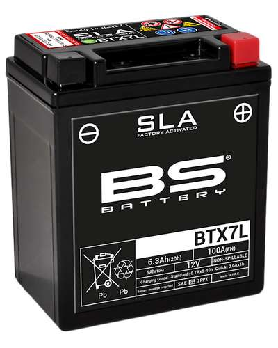 BS BATTERY Batterie BTX7L-SLA