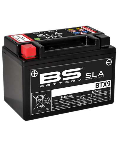 BS BATTERY Batterie BTX9-SLA