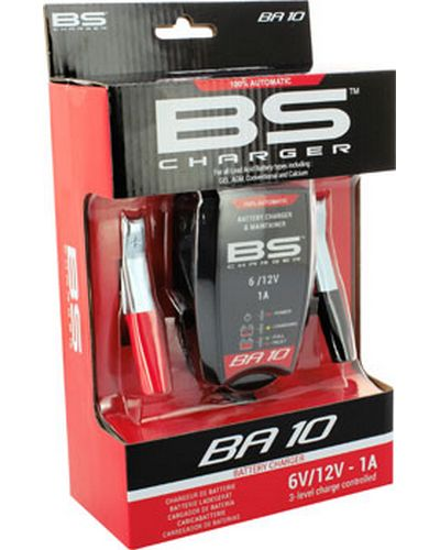 BS BATTERY Chargeur BS BA10 - 6/12V - 1000 mma