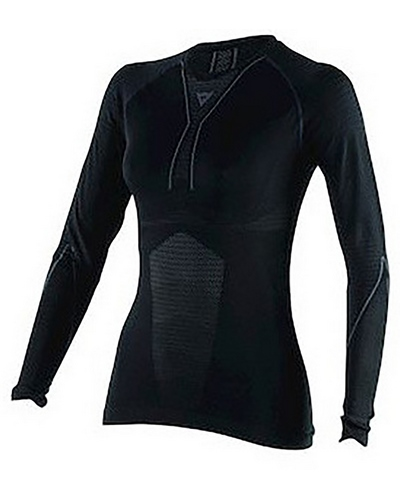 DAINESE D-Core Dry Tee LS lady noir-anthracite